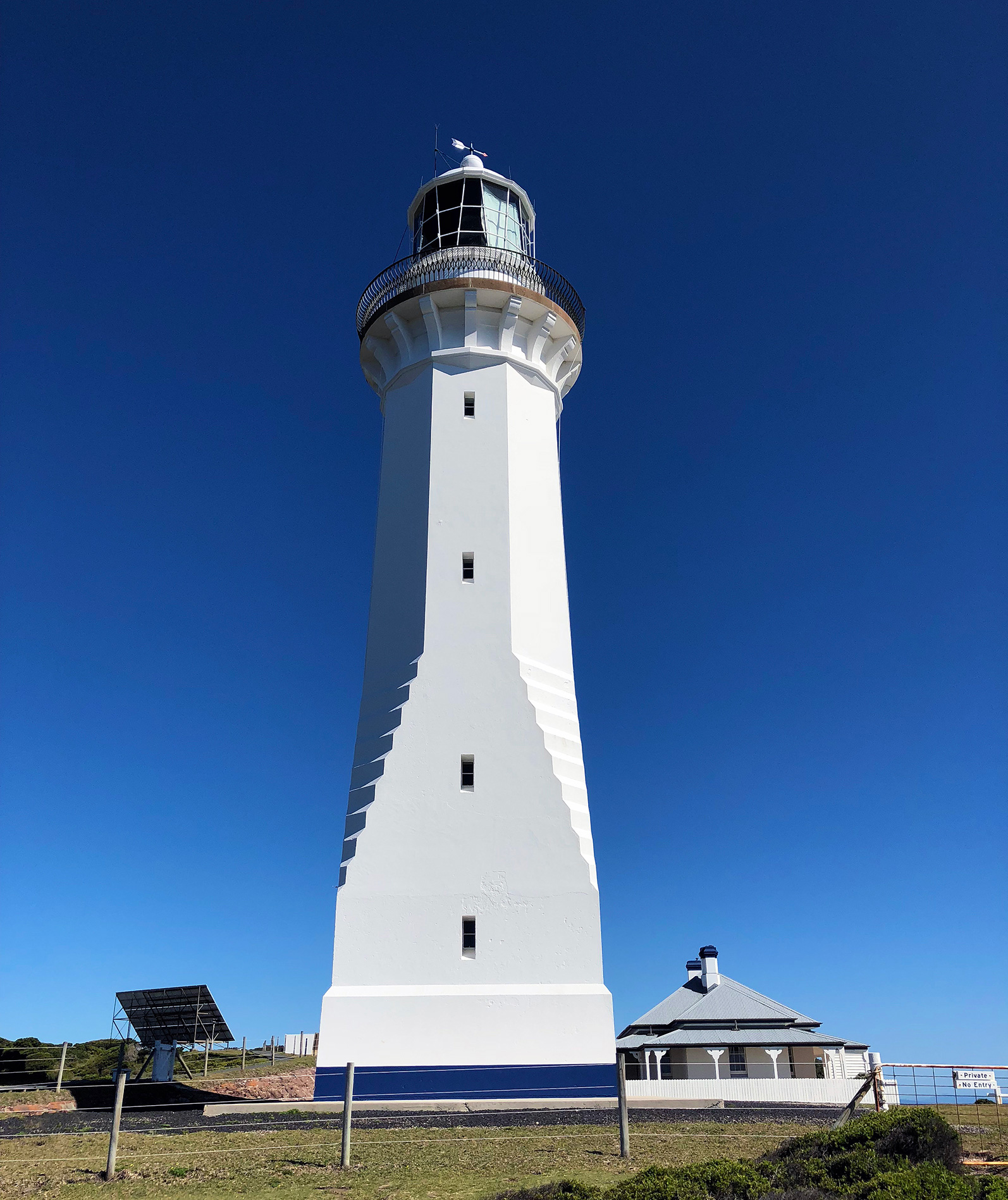 Green Cape Lighthouse: the end of our three day journey.